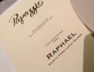 Raphael Wine Dinner